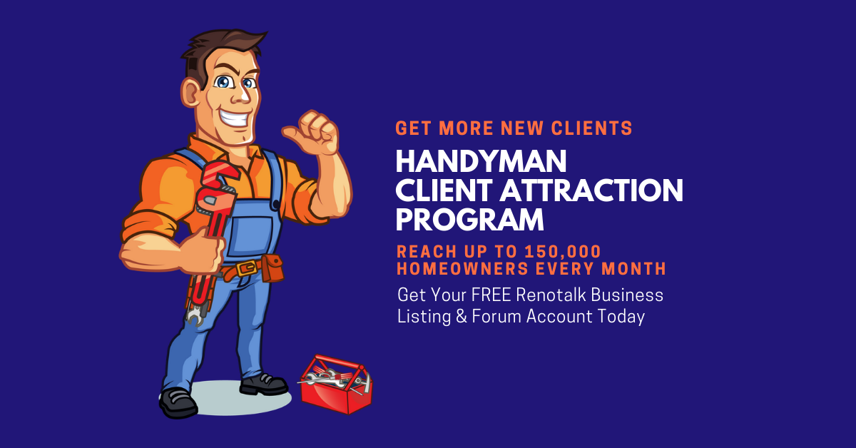 handyman client attraction